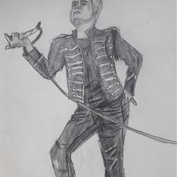 drawing pencilart gerardway blackparade