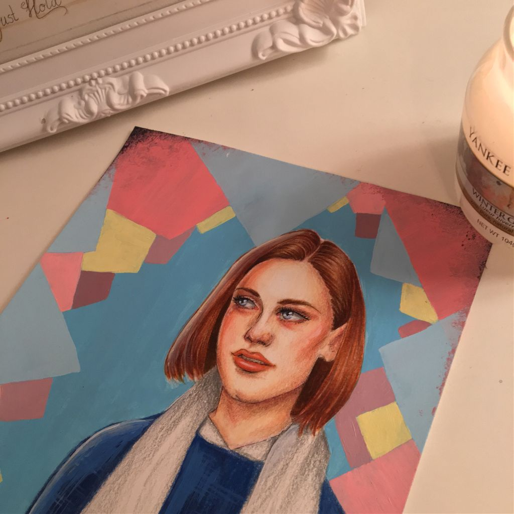 Rory is done 😗 #gilmoregirls #netflix #prettygirl #girl #polishgirl #artist #art #drawing #interesting #aesthetic #people #photography #beautiful #creative #pastel #cutegirl #tumblr #FreeToEdit #portrait #acrylic
