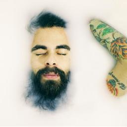 freetoedit human portrait face tattoo