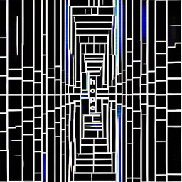 freetoedit tunnel abstractart blackandwhite hope