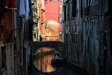 streetphotography bridge water silhouette venice