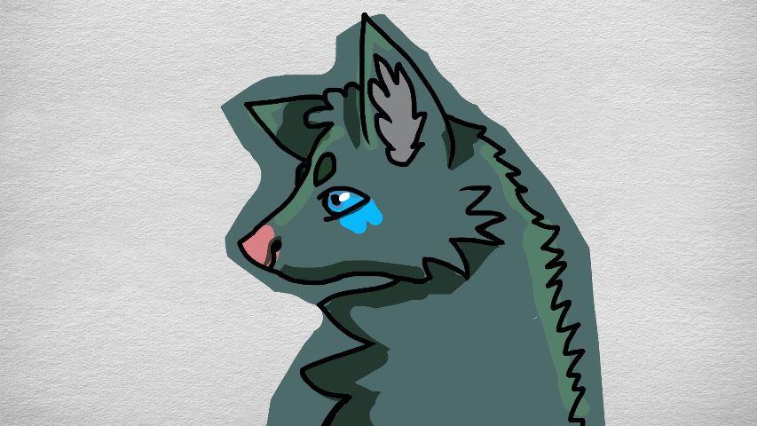 #wolf,#improvement,#phoenixfioreart