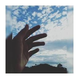 freetoedit myhand takebyathwngn sky topofmountain
