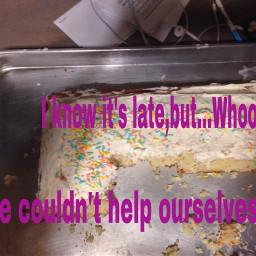 midnightsnack caketime yummy