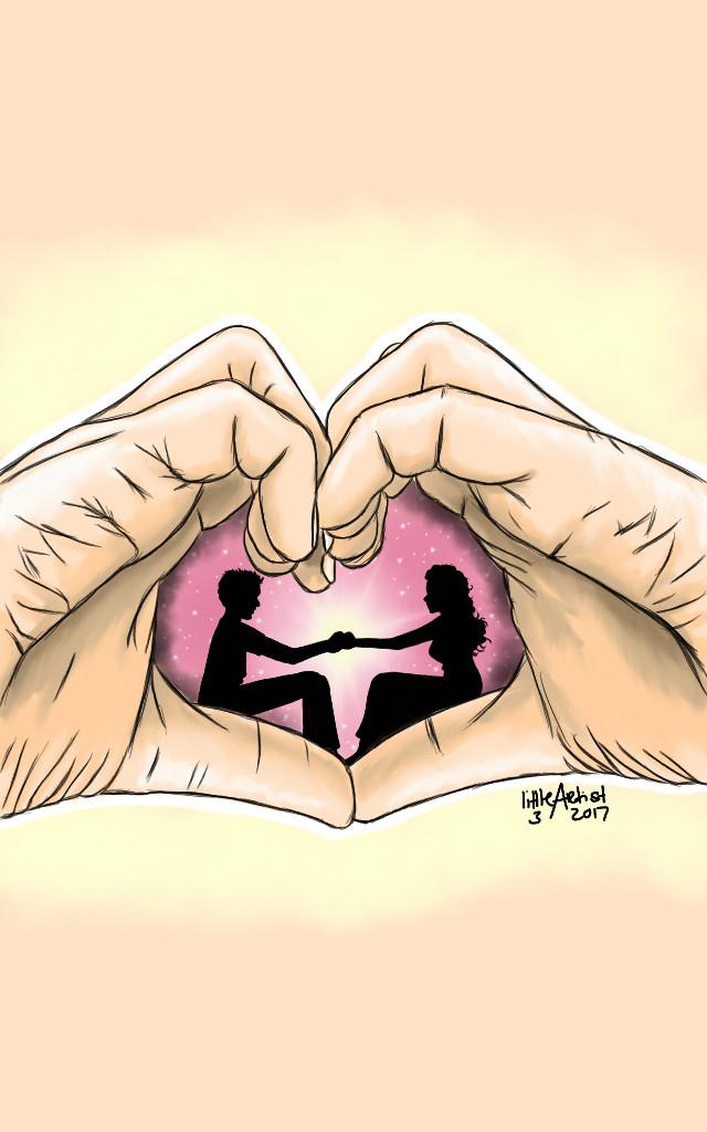 """""""Forever yours"""" #drawing #digitalart #littleartistsworld #AutodeskSketchBook #illustration #love #lovers #emotions #art #sketch"""