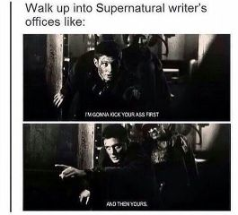 supernatural writers supernaturalwriters offices deanwinchester freetoedit