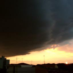 nature twiligth sky clouds nigthsky freetoedit