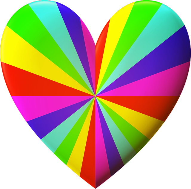 #ftestickers #rainbowcolors #heart