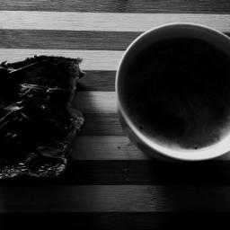 blackandwhite photography coffee nutella black